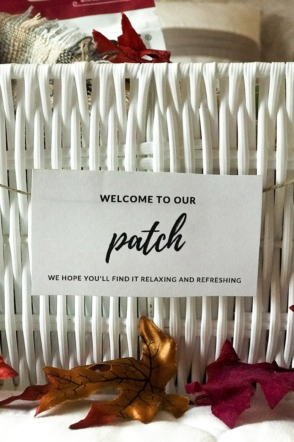 Welcome To Our Patch Tag. We hope you'll find it relaxing and refreshing.